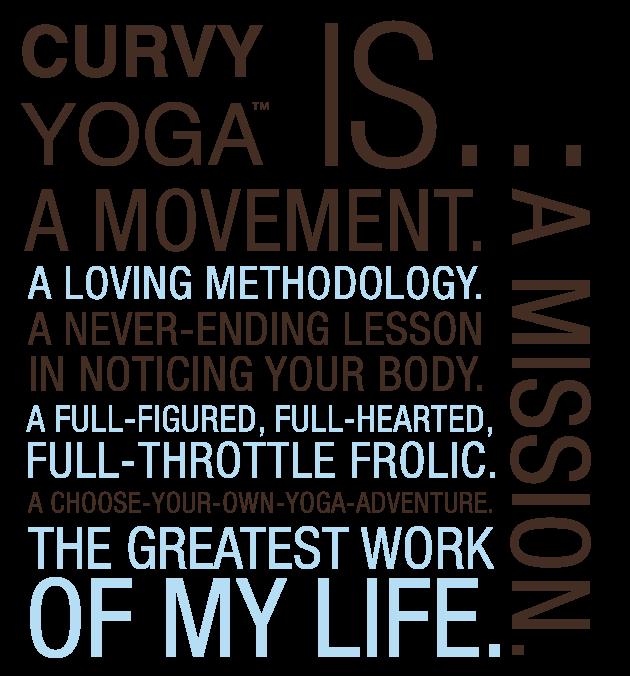 Anna guest jelley founder of curvy yoga — a training